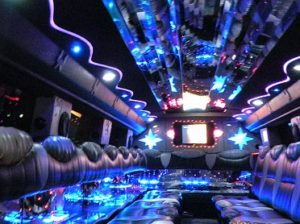 luxury-hummer-party-bus-inner