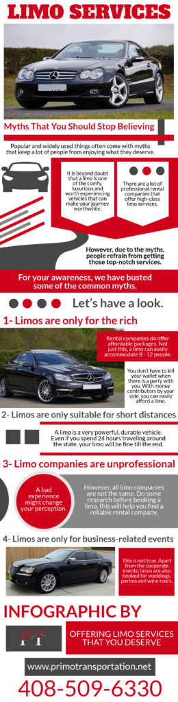 Myths About Limo Services That You Should Stop Believing