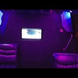 Primo Transportation- Krystal limousine bus